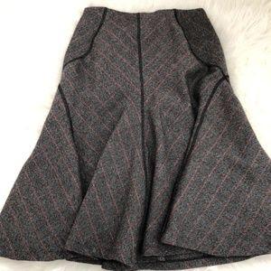 Zara wool swing skirt